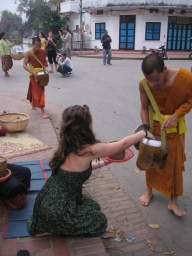 The One About Nirvana, Monks and Finding a Laos Lettuce Wrap Lady
