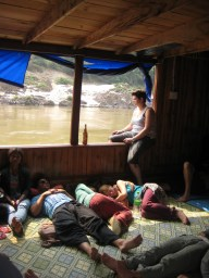 Floating Pigs, Black Outs and Slow Boating the Mekong
