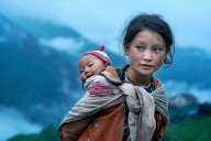 Children of the mountains - village of Thuman, Langtang Valley, Nepal, 2007