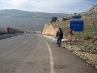 The long walk from the Syrian border back into Turkey